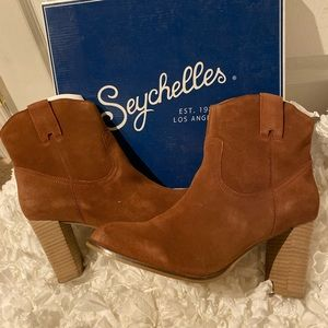 Seychelles, Size 10, brown ankle boot